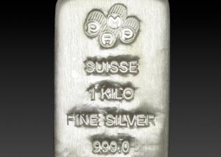 PAMP 1 Kg Silver bar