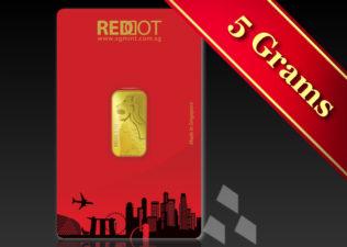 SGMint GoldMerlion5g.001