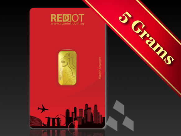 SGMint GoldMerlion5g.001